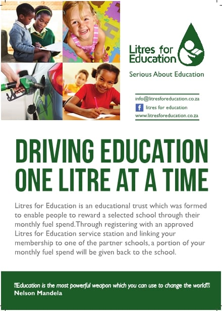 Litres For Education - Flyer